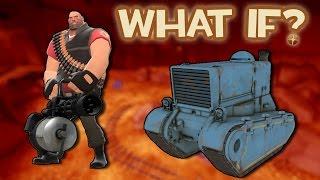 What if Heavy's minigun dealt full damage to tanks? (TF2)
