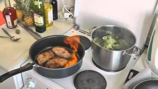 «Good cook» Burning duck / «Хорошо готовить» Горящая утка