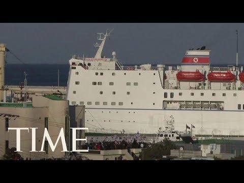 North Korea's Once-Nefarious Ferry Sails South With Lighter Cargo: Pop Stars And Souvenirs | TIME