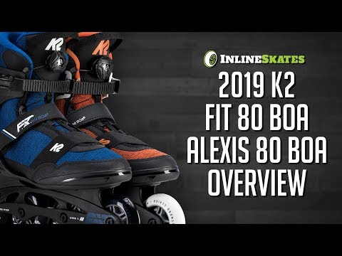 Video: 2019 K2 FIT 80 Boa and Alexis 80 Boa Men