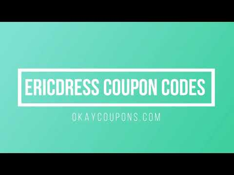 , title : 'Ericdress Coupon Code &  How To Use Ericdress Promo Code'