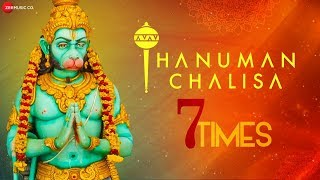 Hanuman Chalisa - Repeated 7 times for Good Luck | Shekhar Ravjiani | Zee Music Devotional