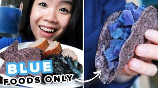 I Only Ate Blue Foods For 24 Hours