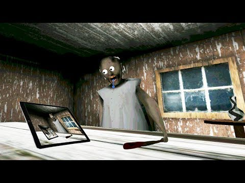 Funny moments in Granny The Horror Game || Experiments with Granny Episode 37 (видео)