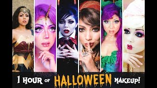1 HOUR Of HALLOWEEN Makeup Looks! | Charisma Star