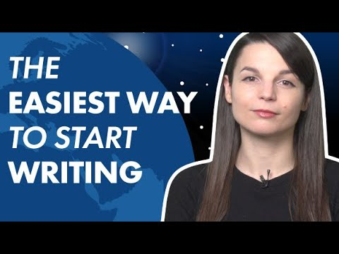 The Easiest Way to Start Writing in English