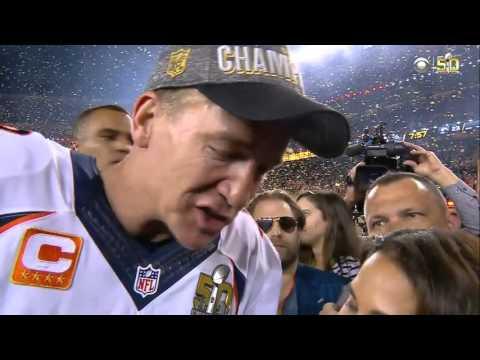 Peyton Manning on Winning Super Bowl 50, 'I'm Very Grateful' | Panthers vs. Broncos | NFL