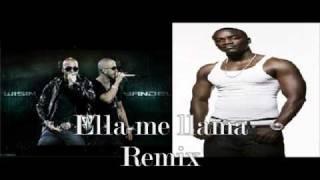 Ella me llama (Hey Mama's) Remix - Wisin & Yandel Ft. Akon