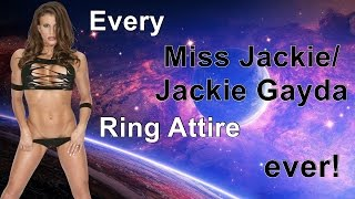Every Ring Attire Ever: Miss Jackie / Jackie Gayda