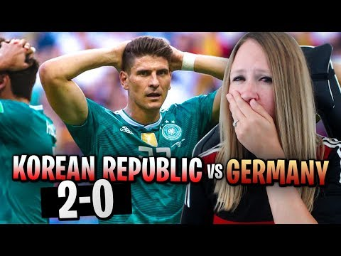 REACTING TO GERMANY VS KOREAN REPUBLIC!