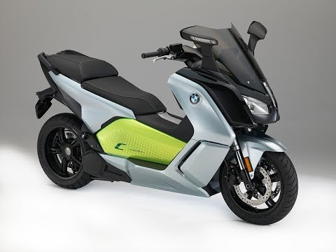 BMW C-Evolution Electric Maxi-Scooter Review – Moto Mouth Moshe #39
