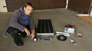 Die Solaranlage für das Gartenhaus ist da - Alle Komponenten ausgepackt und angeschaut