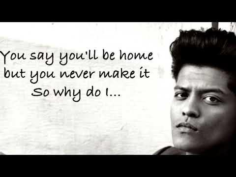 Bruno Mars - Girl in the window (Lyrics Music Video)