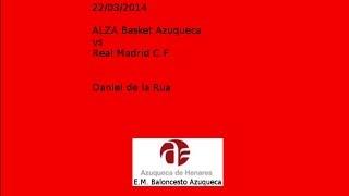 preview picture of video 'Daniel de la Rua VS ALZA Basket Azuqueca'