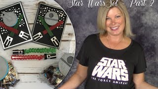 Star Wars Set Part 2 How To Make Cards & Candy Treat Bags Party Pack With Stampin Up
