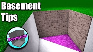 How To: Basements In Bloxburg • Roblox