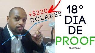 BINARY.COM - $220 NA CONTA REAL   COMO USAR a TENDÊNCIA a seu FAVOR!?