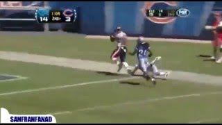Matt Forte vs Lions (NFL Week 1 2010) - Bears Records, GAME WINNER!