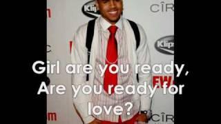 Chris Brown - Glow In The Dark W/Lyrics