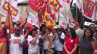 Rosa de Souza vice-presidente da CTB-Bahia, defende o servidor contra a Reforma da Previdência de Rui Costa