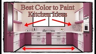 best color to paint kitchen cabinets