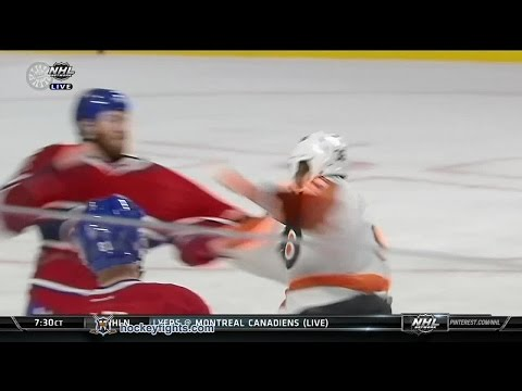 Zac Rinaldo vs Brandon Prust