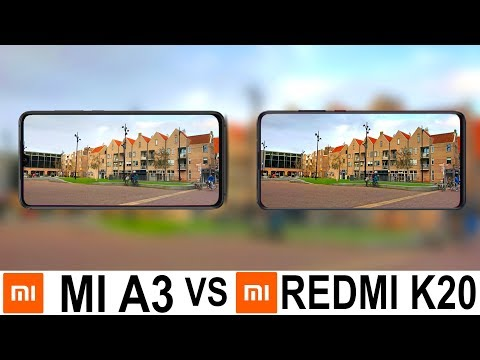 Xiaomi Mi A3 Vs Redmi K20 Camera Test