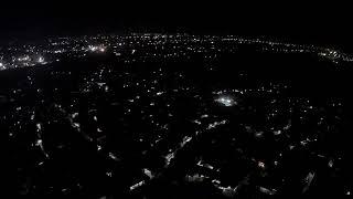 MJX Bugs 2 W di malam hari