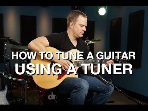 How To Tune A Guitar Using A Tuner
