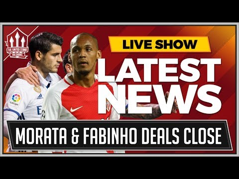 FABINHO & MORATA To MAN UNITED Latest! MAN UTD TRANSFER NEWS