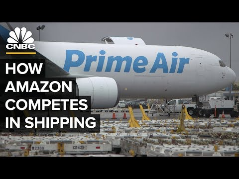How Amazon Air is expanding while slowly crunching FedEx and UPS in America is kinda scary.