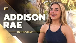 TikTok's Addison Rae on Bryce Hall Dating Rumors | Full Interview
