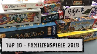 #Top 10 - FamilienSpiele 2018
