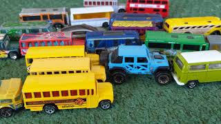 Cars for Kids, Wali Drives Toy Car and Buses  - Kids Play Video | Wali Toys