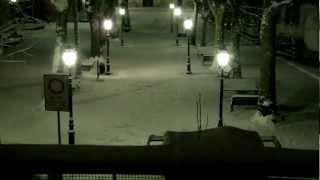 preview picture of video 'The Big Snow - la grande nevicata a Casella (Genova) - Time Laps'