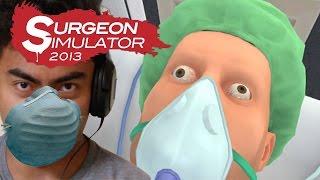 I KILLED BOB 5 TIMES   Surgeon Simulator Part 1