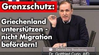 Bundestagsrede: Griechenland beim Grenzschutz unterstützen