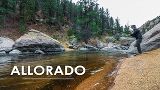 Trout Fly Fishing and Hiking in Cheesman Canyon COLORADO