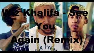 Wiz Khalifa - See You Again (Remix) [feat. Chris Brown & Tyga] [Audio]