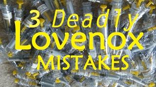 3 Lovenox Dosing Side Effect Errors that Kill [Doctor Interview]