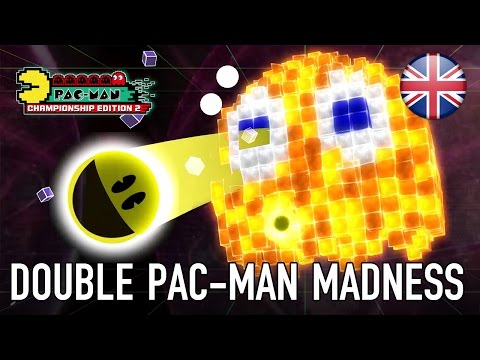 PAC-MAN Championship Edition 2 - PS4/XB1/PC - Double PAC-MAN Madness! (Announcement Trailer) thumbnail