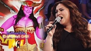 "GGV: Karla sings ""Barna"" Theme Song"