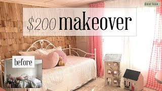 $200 MOBILE HOME BEDROOM REFRESH & DECORATE W/ ME