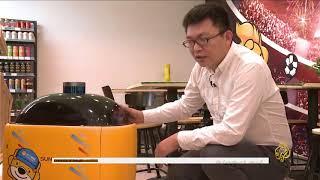 هذا الصباح - شركة صينية تطور روبوت لتوصيل طلبات المطاعم للمنازل | Kholo.pk