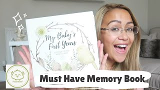 A MUST HAVE - Baby Memory Book  | Review | Keababies Collaboration