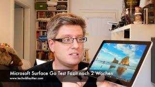Microsoft Surface Go Test Fazit nach 2 Wochen