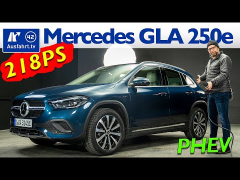 2021 Mercedes-Benz GLA 250e Progressive PHEV - Kaufberatung, Test deutsch, Review, Fahrbericht