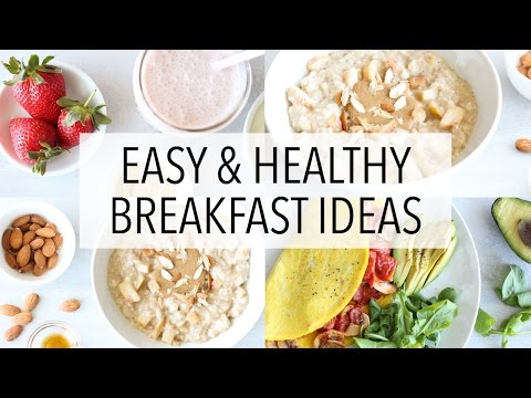 3 Gluten Free Breakfast Ideas | Healthy Recipes For Weight Loss