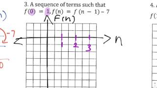 5.3 Ready #3 Graphing an Arithmetic Sequence