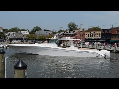 HCB Yachts 65′ Estrella – The World's Largest Center Console Powerboat